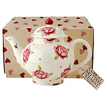 Buy Emma Bridgewater Rose and Bee Teapot, 1.4L Online at johnlewis.com