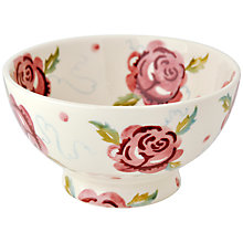 Buy Emma Bridgewater Rose & Bee French Bowl Online at johnlewis.com