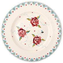 Buy Emma Bridgewater Rose and Bee Plate, Dia.27 Online at johnlewis.com