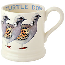 Buy Emma Bridgewater Turtle Dove Mug, 1/2 Pint Online at johnlewis.com