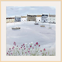 Buy Hannah Cole - Quiet Moorings Framed Print, 40 x 40cm Online at johnlewis.com