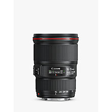 Buy Canon EF 16-35mm f/4L IS USM Wide Angle Zoom Lens Online at johnlewis.com