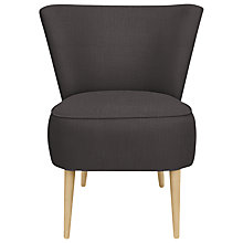 Buy John Lewis The Basics Twiggy Chair, Bowden Charcoal Online at johnlewis.com