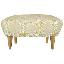 Buy Content By Terence Conran Matador Footstool, Kateri Lime Online at johnlewis.com