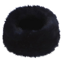 Buy Coast Faux Fur Snood, French Navy Online at johnlewis.com