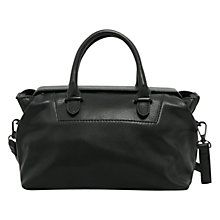 Buy Mango Small Tote Bag, Black Online at johnlewis.com
