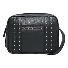 Buy Mango Studded Cross Body Bag, Black Online at johnlewis.com
