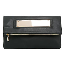 Buy Mango Mirror Applique Bag, Black Online at johnlewis.com