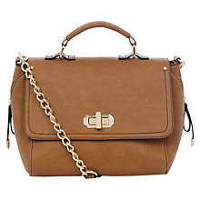 Buy Oasis Dora Top Handle Bag, Tan Online at johnlewis.com