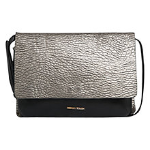 Buy Mango Flap Cross Body Bag, Light Pastel Grey Online at johnlewis.com