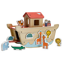 Buy John Lewis Wooden Noah's Ark Online at johnlewis.com