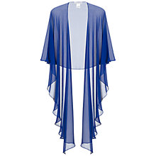 Buy Gina Bacconi Chiffon Shawl, Blue Online at johnlewis.com