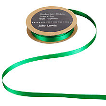 Buy John Lewis satin Ribbon, 7mm Online at johnlewis.com