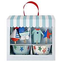 Buy Meri Meri Baby Shower Cupcake Kit Online at johnlewis.com