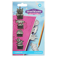 Buy Mustard Unicorn Clips Page Markers Online at johnlewis.com