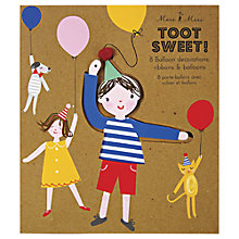 Buy Meri Meri Toot Sweet Balloons Kit Online at johnlewis.com