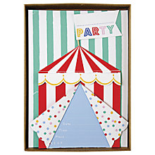 Buy Meri Meri Toot Sweet Party Invitations, Pack of 8 Online at johnlewis.com