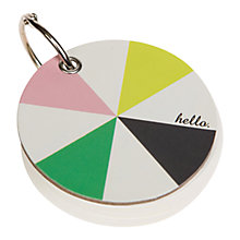 Buy Caroline Gardner Chroma Notepad Keyring Online at johnlewis.com