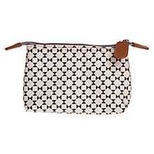Buy Caroline Gardner Floral Geometric Cosmetics Bag Online at johnlewis.com