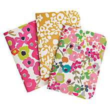 Buy Caroline Gardner Ditsy Pocket Notebooks, Set of 3 Online at johnlewis.com