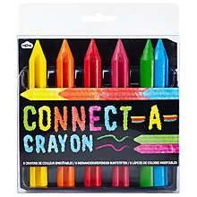Buy NPW Connect-a-Crayon Set Online at johnlewis.com