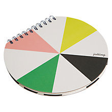 Buy Caroline Gardner Chroma Circular Desk Jotter Online at johnlewis.com