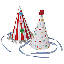 Buy Meri Meri Toot Sweet Party Hats Online at johnlewis.com