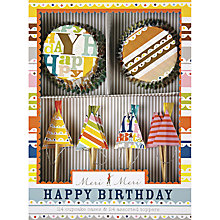 Buy Meri Meri Happy Birthday Cupcake Kit Online at johnlewis.com