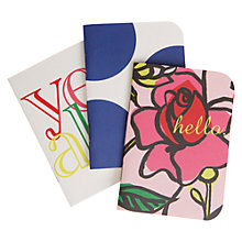 Buy Caroline Gardner Chroma Pocket Notebooks, Set of 3 Online at johnlewis.com
