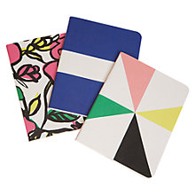 Buy Caroline Gardner Chroma Notebooks, Set of 3 Online at johnlewis.com