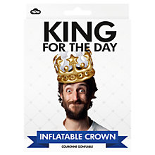 Buy NPW Inflatable King Crown Online at johnlewis.com