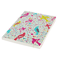 Buy Go Stationery Meadow Birds A5 Notebook Online at johnlewis.com