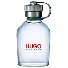 Buy HUGO BOSS HUGO Man Aftershave, 75ml Online at johnlewis.com