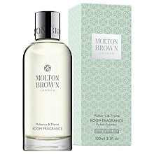Buy Molton Brown Mulberry & Thyme Room Fragrance, 100ml Online at johnlewis.com