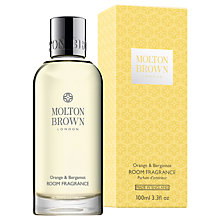 Buy Molton Brown Orange and Bergamot Room Fragrance, 100ml Online at johnlewis.com