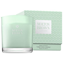 Buy Molton Brown Mulberry & Thyme Three Wick Candle, 500g Online at johnlewis.com