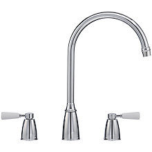 Buy Franke Moritz 2 Lever Tap, Chrome Online at johnlewis.com