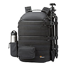 "Buy Lowepro ProTactic 450 AW Backpack for DSLR Cameras and 15"" Laptops, Black Online at johnlewis.com"