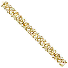 Buy Eclectica Vintage 1950s Trifari Gold Plated Bracelet, Gold Online at johnlewis.com