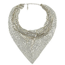 Buy Eclectica Vintage 1970s Whiting & Davis Silver Plated Necklace, Silver Online at johnlewis.com