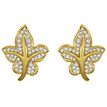 Buy Eclectica Vintage 1980s Attwood & Sawyer Gold Plated Clip-On Earrings, Silver / Gold Online at johnlewis.com