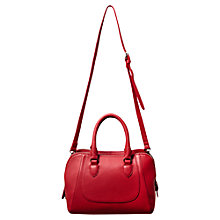 Buy East Naava 2 Pocket Bag, Scarlet Online at johnlewis.com