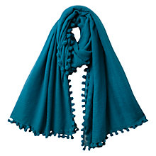 Buy East Wool Pom Pom Scarf Online at johnlewis.com