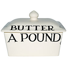 Buy Emma Bridgewater Black Toast Butter Dish Online at johnlewis.com