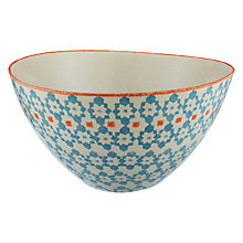 Buy John Lewis Bedouin Salad Bowl, Blue Online at johnlewis.com