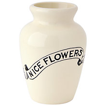 Buy Emma Bridgewater Black Toast Mustard Vase Online at johnlewis.com