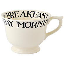 Buy Emma Bridgewater Black Toast Large Breakfast Cup Online at johnlewis.com