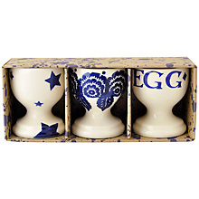 Buy Emma Bridgewater Blue Mix Egg Cups, Set of 3 Online at johnlewis.com