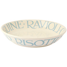 Buy Emma Bridgewater Pale Blue Toast Pasta Bowl Online at johnlewis.com