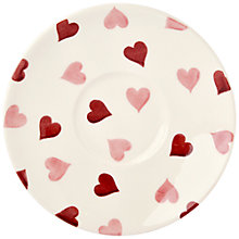 Buy Emma Bridgewater Pink Hearts Small Saucer Online at johnlewis.com